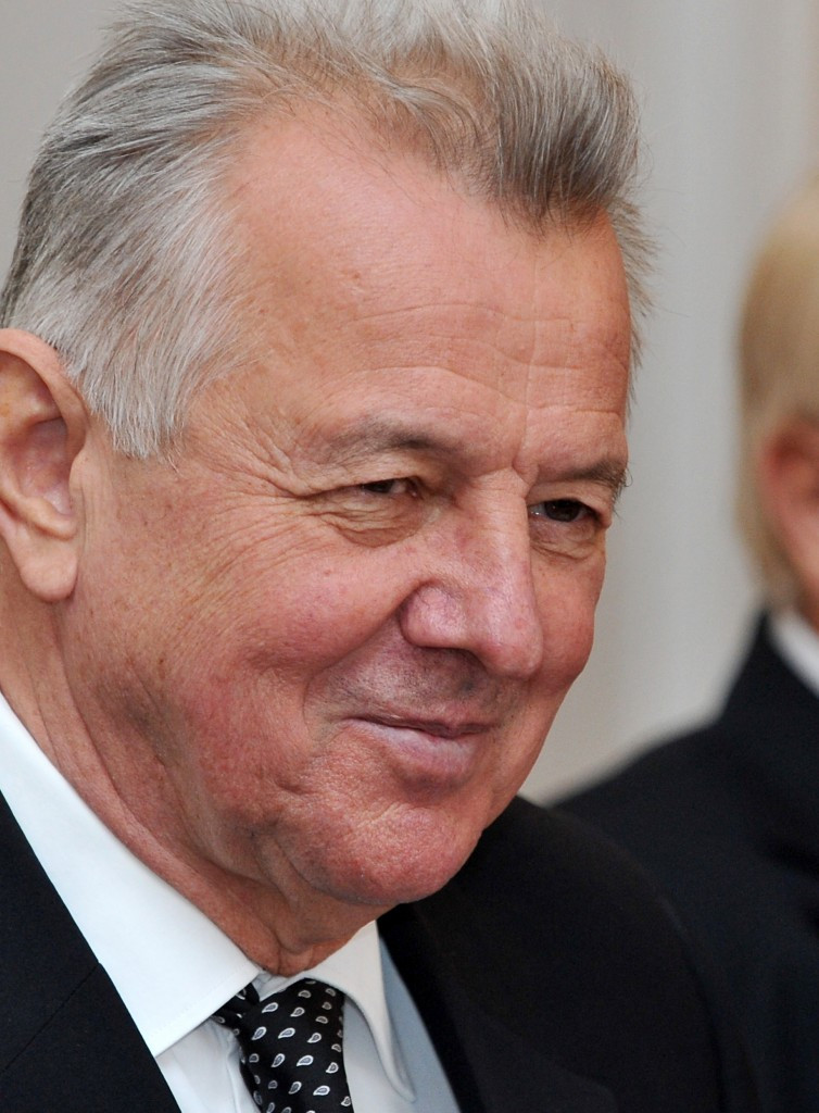 Former Hungarian President Pal Schmitt was part of Budapest's delegation in Washington D.C.