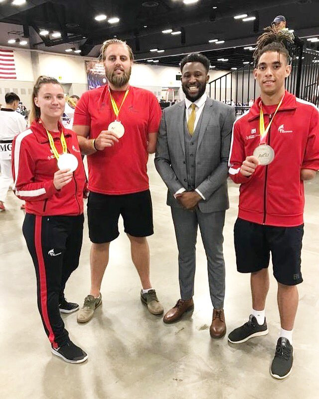 Bush only eyeing gold when taekwondo makes Paralympic debut at Tokyo 2020