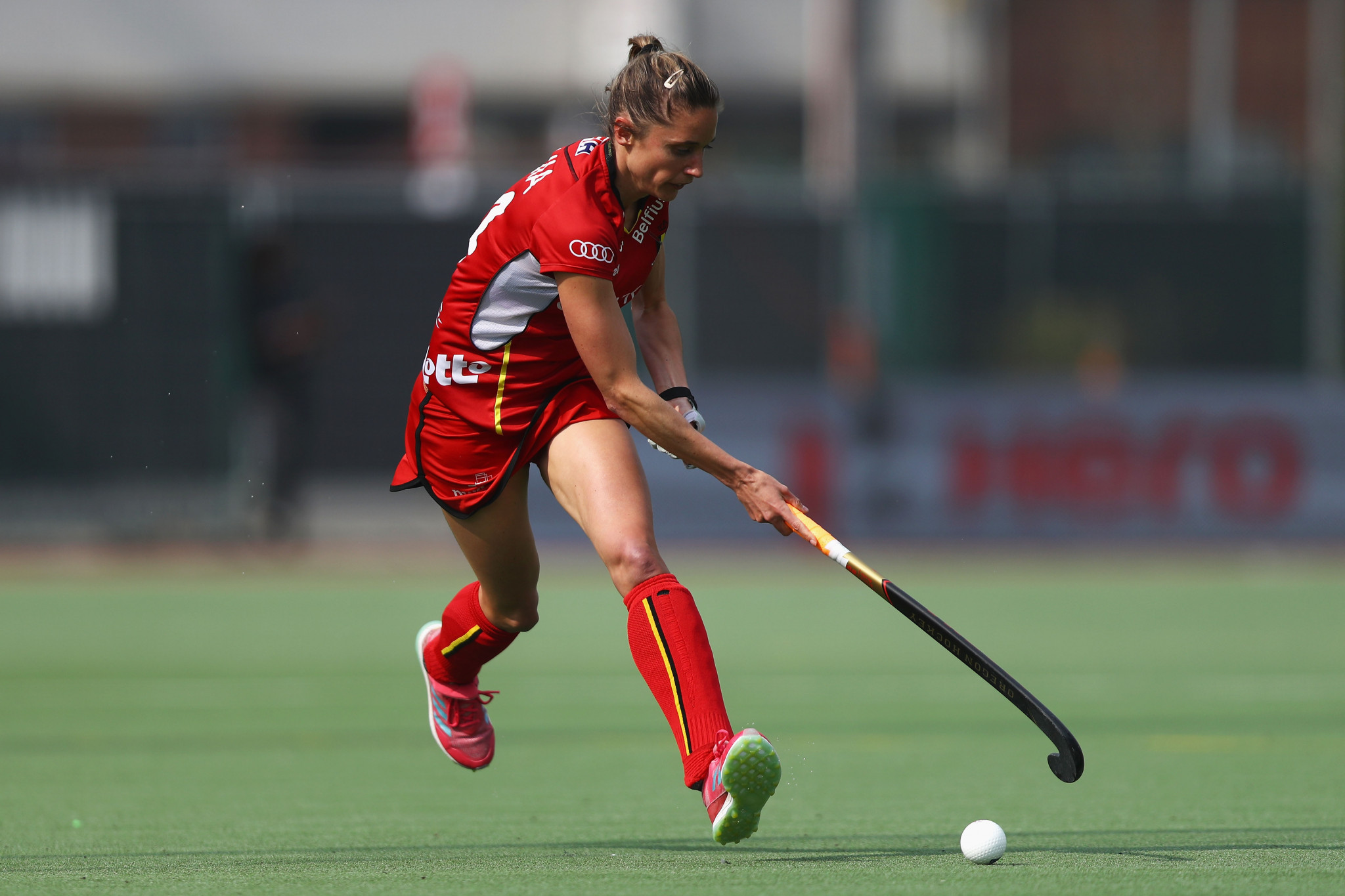 Emilie Sinia was on target for Belgium against China ©Getty Images