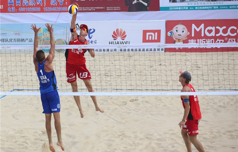 Norwegians reach final to remain on course for two consecutive FIVB Beach World Tour titles in Jinjiang