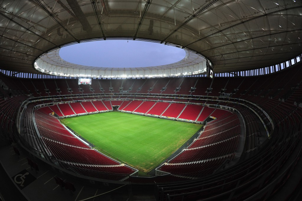 The Mane Garrincha stadium in Brasilia could be stripped of the seven games it is due to host during the Rio 2016 Olympic Games ©Getty Images