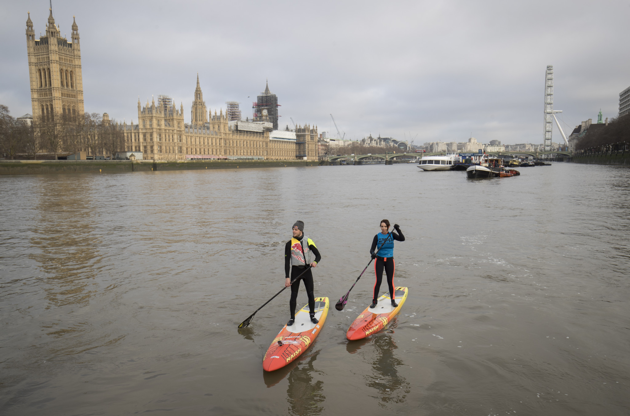 The APP organises an annual world tour in stand-up paddling ©Getty Images