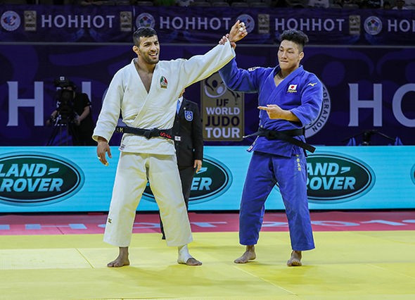 Mollaei beats Fujiwara in repeat of World Championships final at IJF Grand Prix in Hohhot