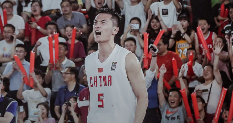 China's men won both matches in front of their own supporters ©FIBA