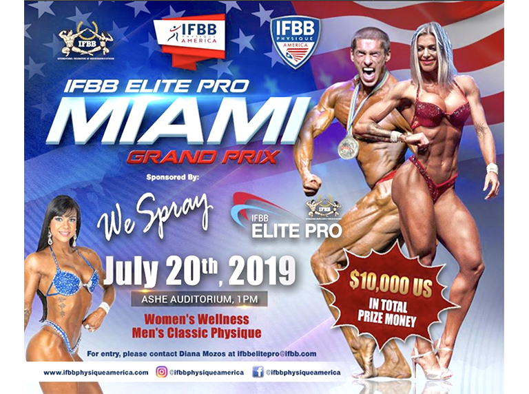 Classic physique division added to Miami Grand Prix