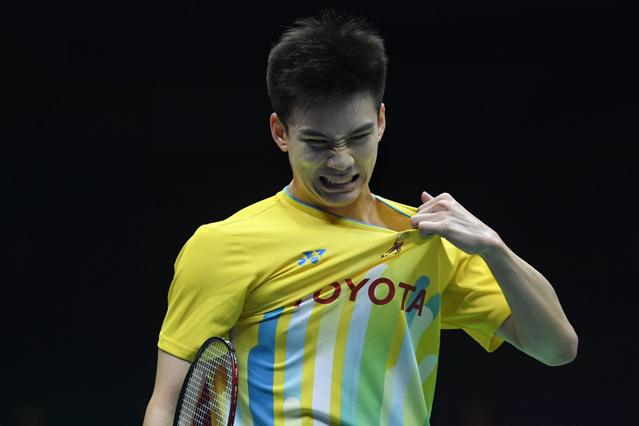 Shi Yuqi helped China power through to the Sudirman Cup final ©Getty Images