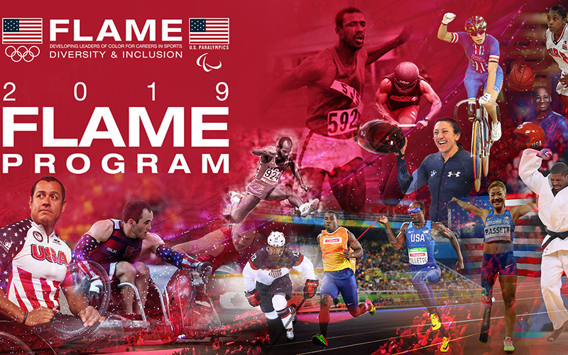 A total of 30 students have been selected to participate in this year's FLAME programme ©USOC