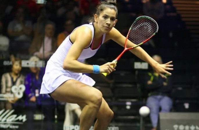 New Zealand's Joelle King has moved up 15 places to world number 13