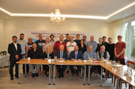 Anti-doping and 'whereabouts' system discussed at Slovak Weightlifting Federation seminar