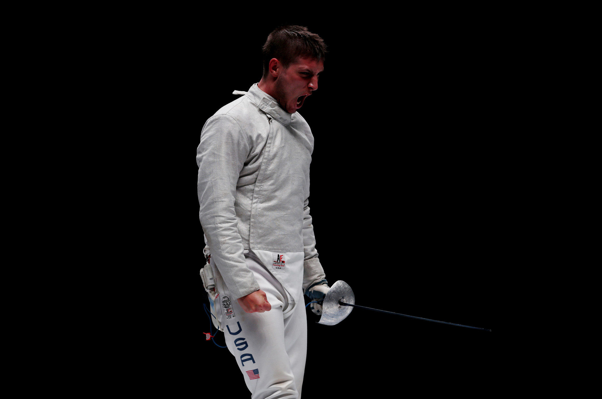 Eli Dershwitz was forced to settle for the silver medal at the latest Sabre Grand Prix ©Getty Images