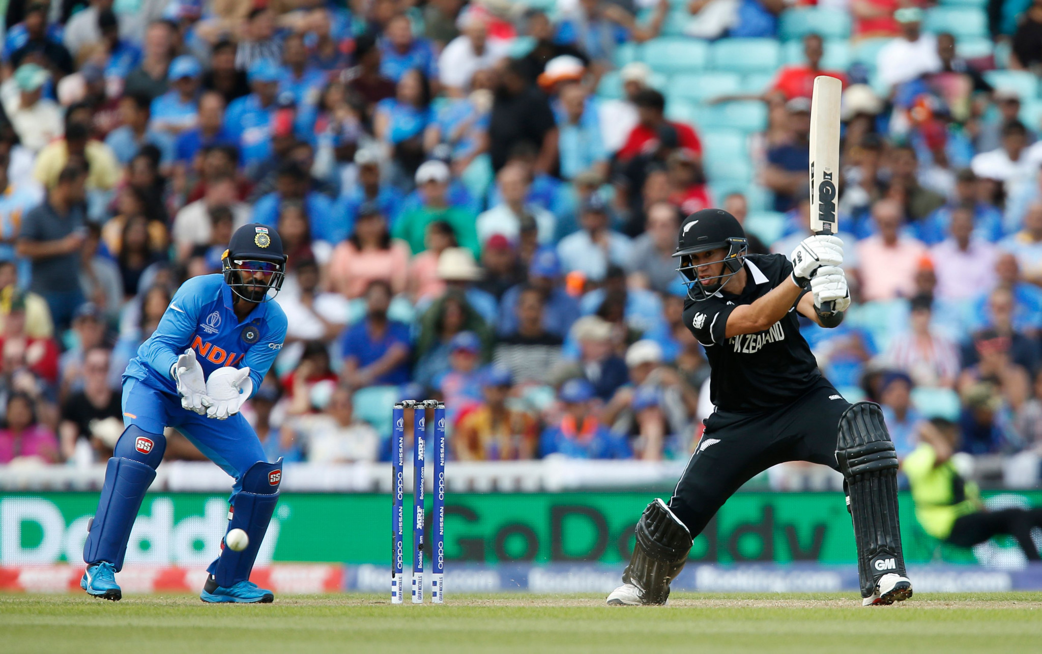 New Zealand thrash India in ICC Cricket World Cup warm-up game