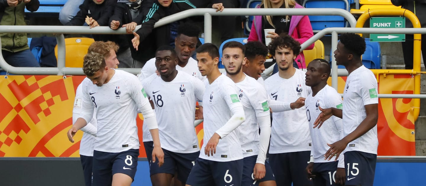 France make winning start to FIFA Under-20 World Cup with victory over Saudi Arabia