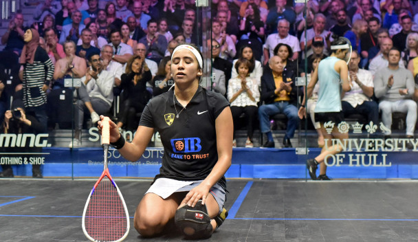 Gohar upsets odds again to reach women's final at PSA British Open