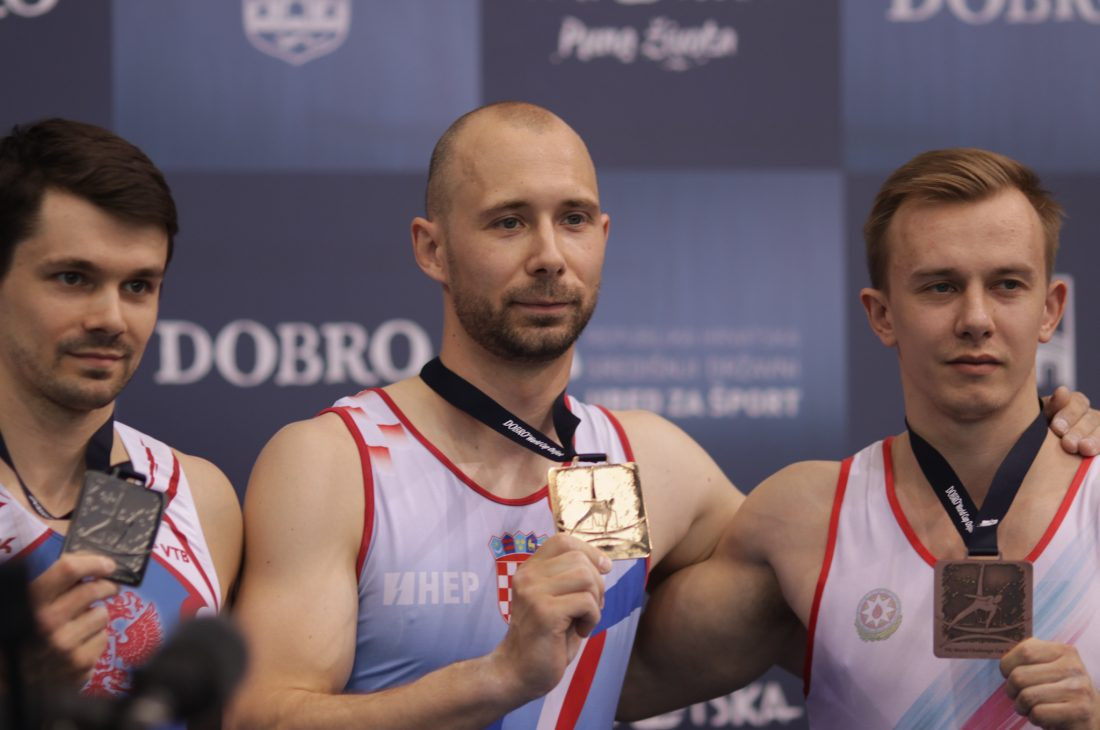Croatia's 33-year-old Seligman finally earns home gold in FIG World Challenge Cup at Osijek