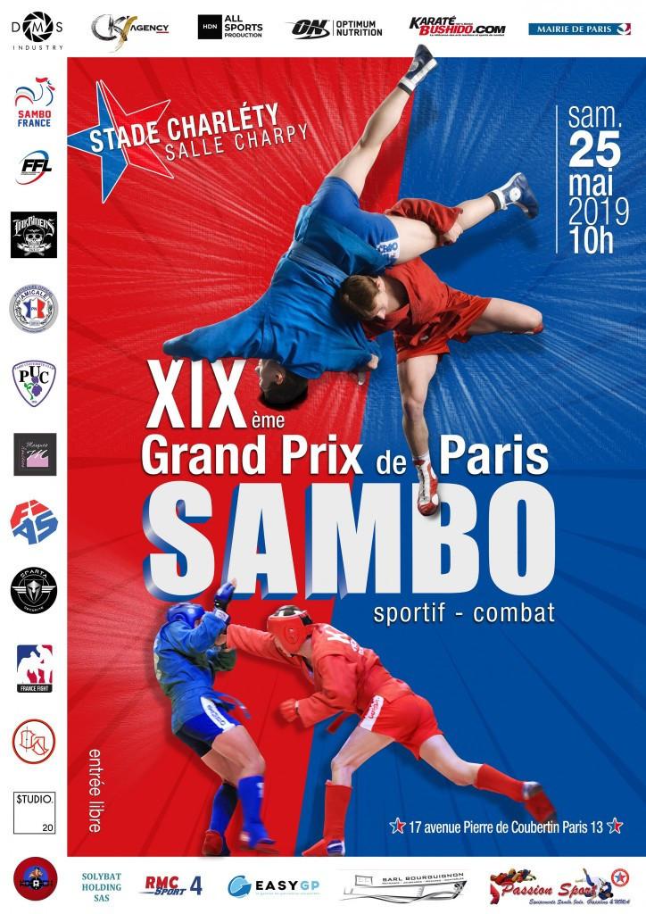 The Paris Sambo Grand Prix took place today ©FIAS