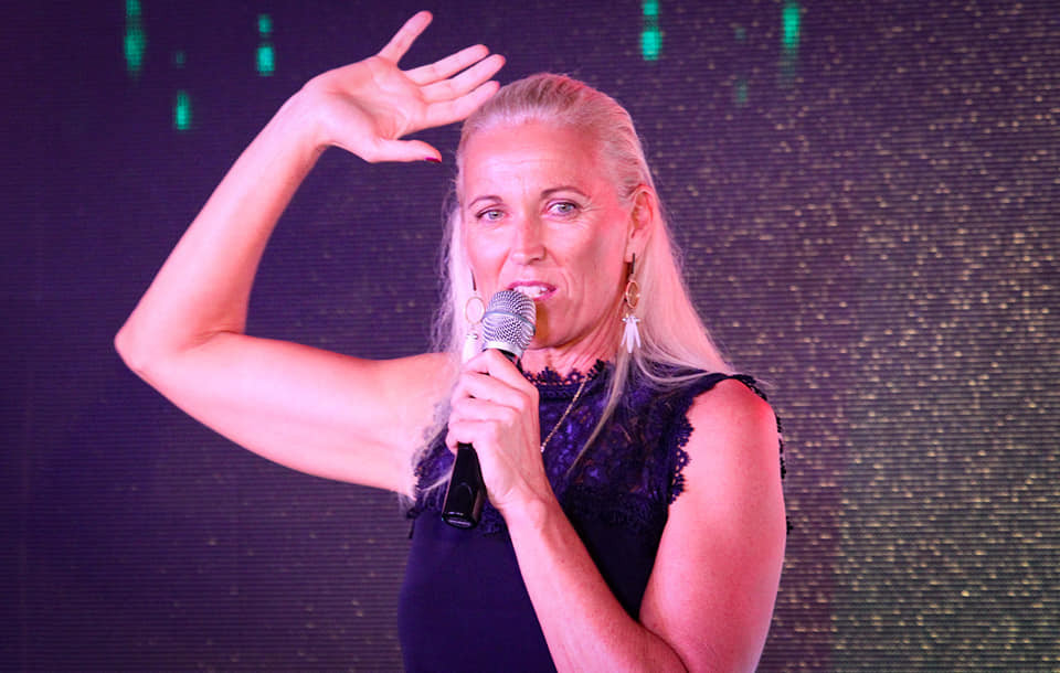 Olympic beach volleyball champion Kerri Pottharst spoke as the special guest ©SP Sports Awards