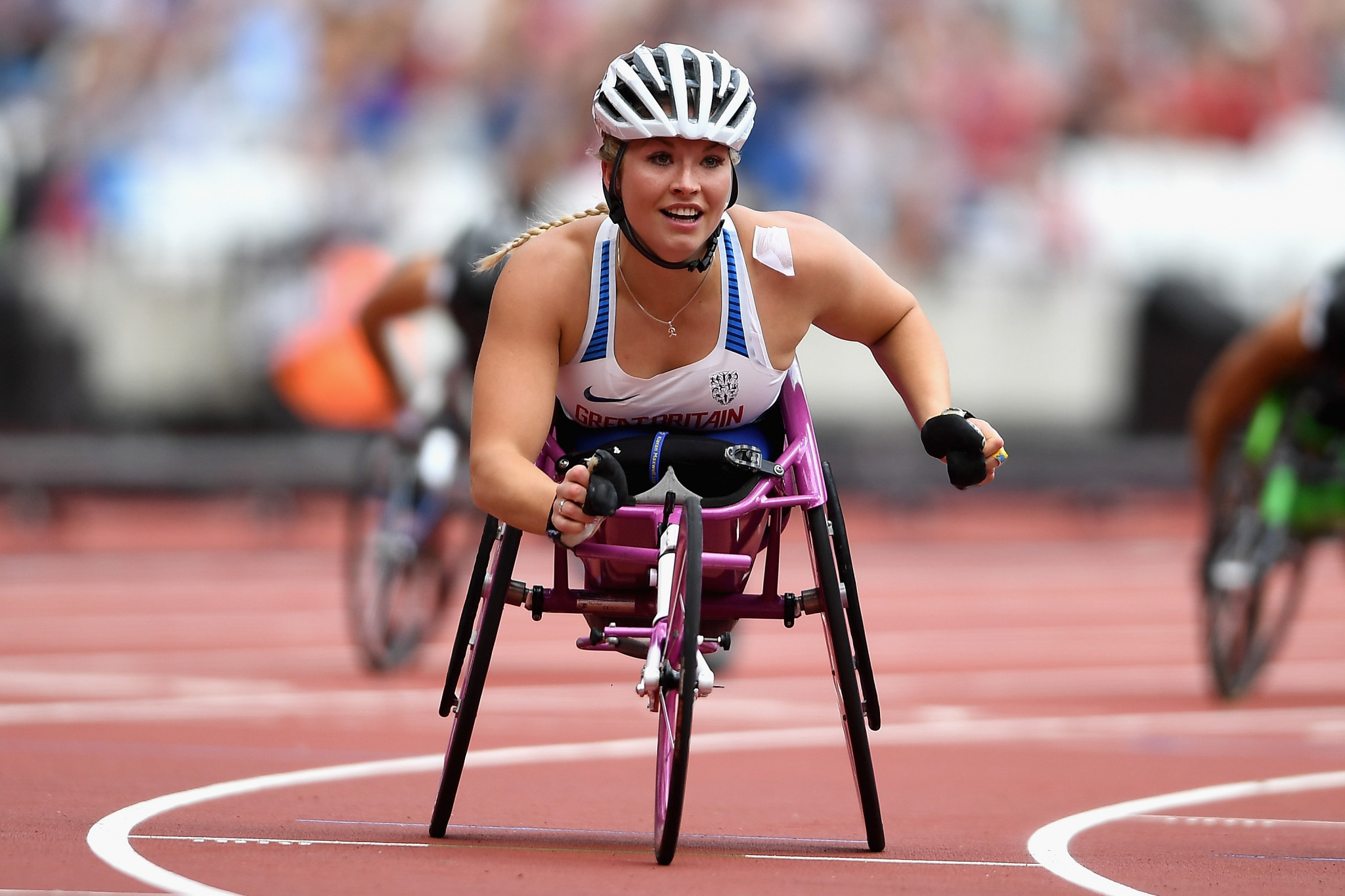 Kinghorn completes hat-trick of victories at World Para Athletics Grand Prix