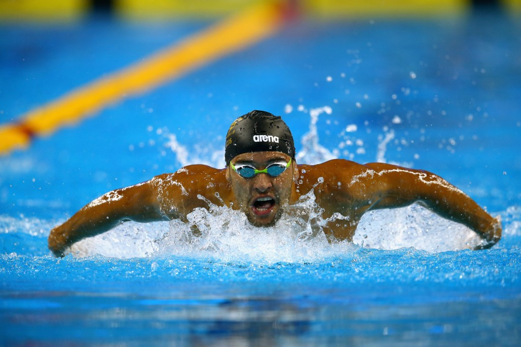 South Africa's Le Clos bags hat-trick of golds on opening day of FINA World Cup in Doha
