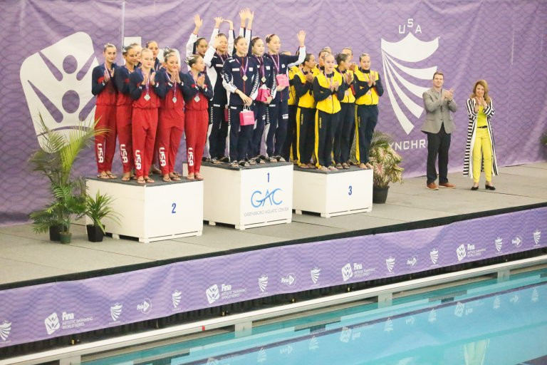 Japan continued their dominance in the FINA Artistic Swimming World Series in Greensboro ©FINA