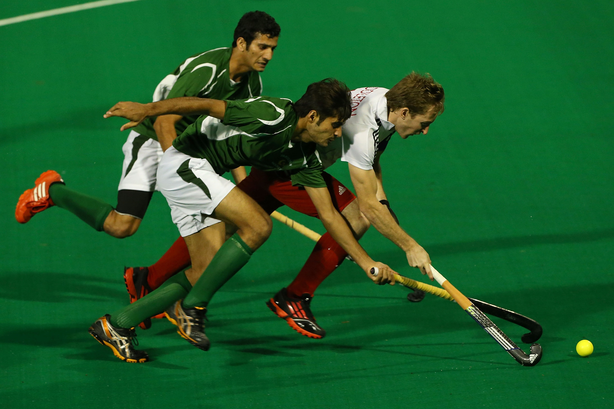 Pakistan are facing the prospect of failing to qualify for two consecutive Olympic Games ©Getty Images