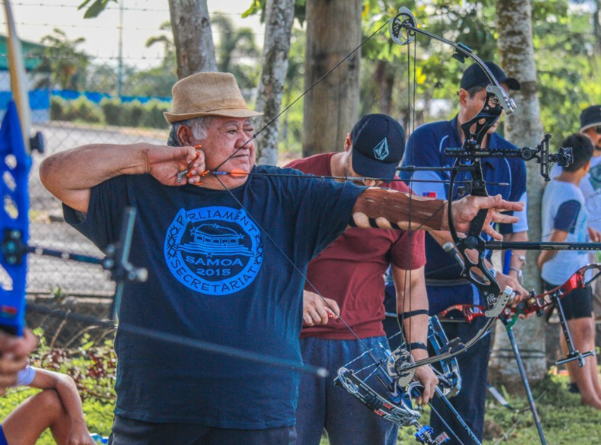 Samoan Prime Minister qualifies to compete in Pacific Games archery