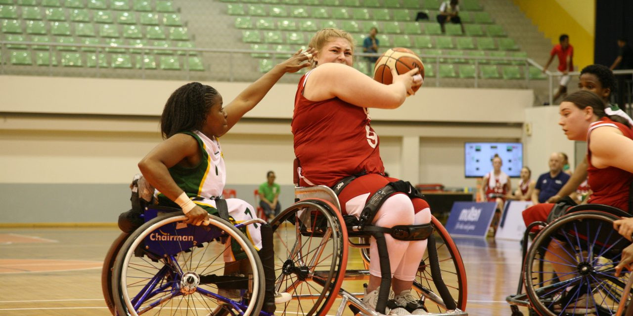 Holders Britain eased into the last four by beating Turkey ©IWBF