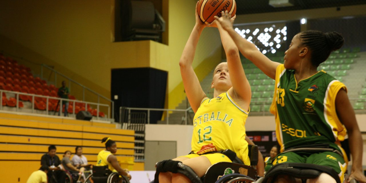 Australia earned a third semi-final in as many appearances ©IWBF