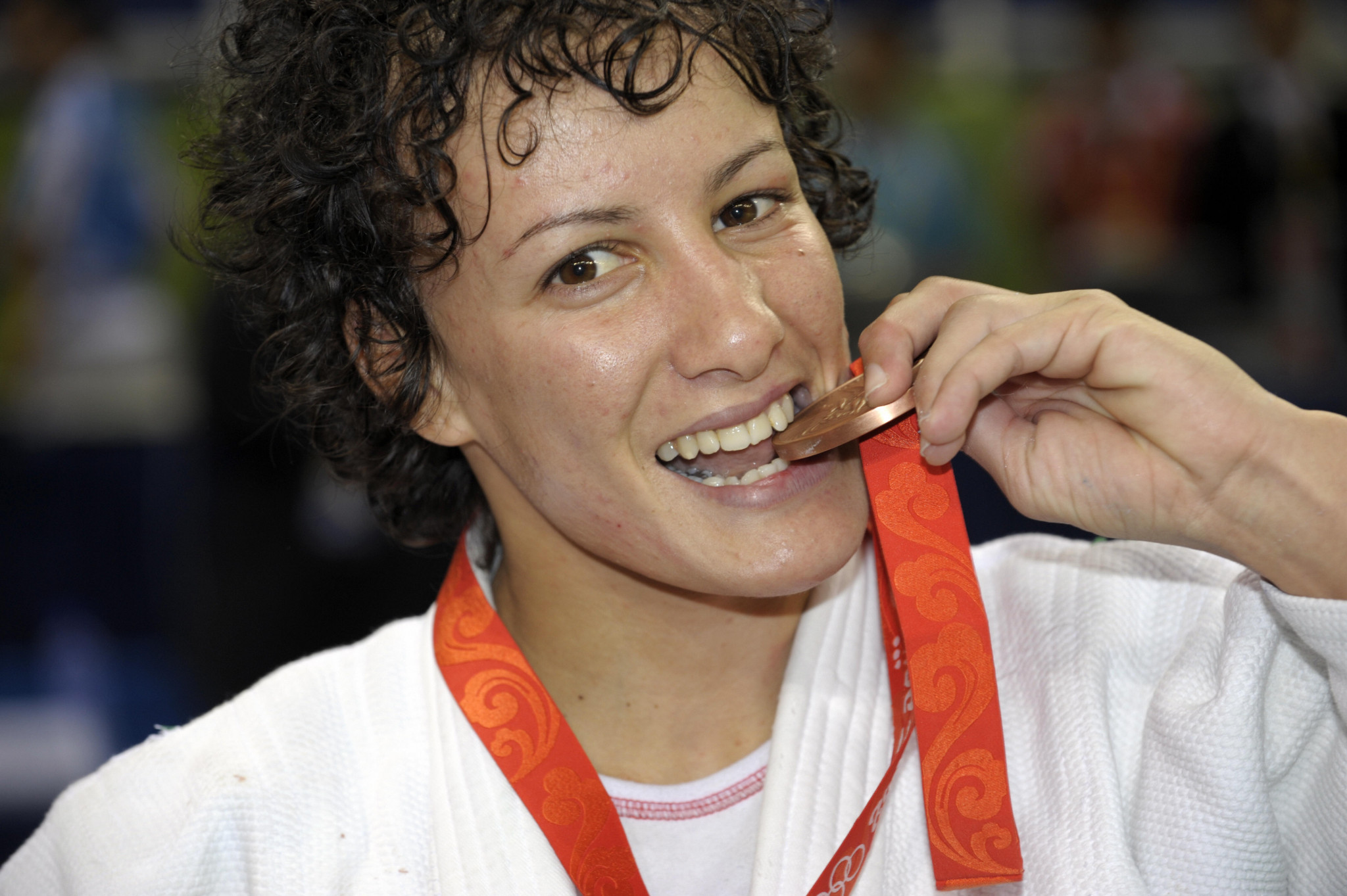 Soraya Haddad was one of three judokas awarded with the COA's top accolade ©Getty Images