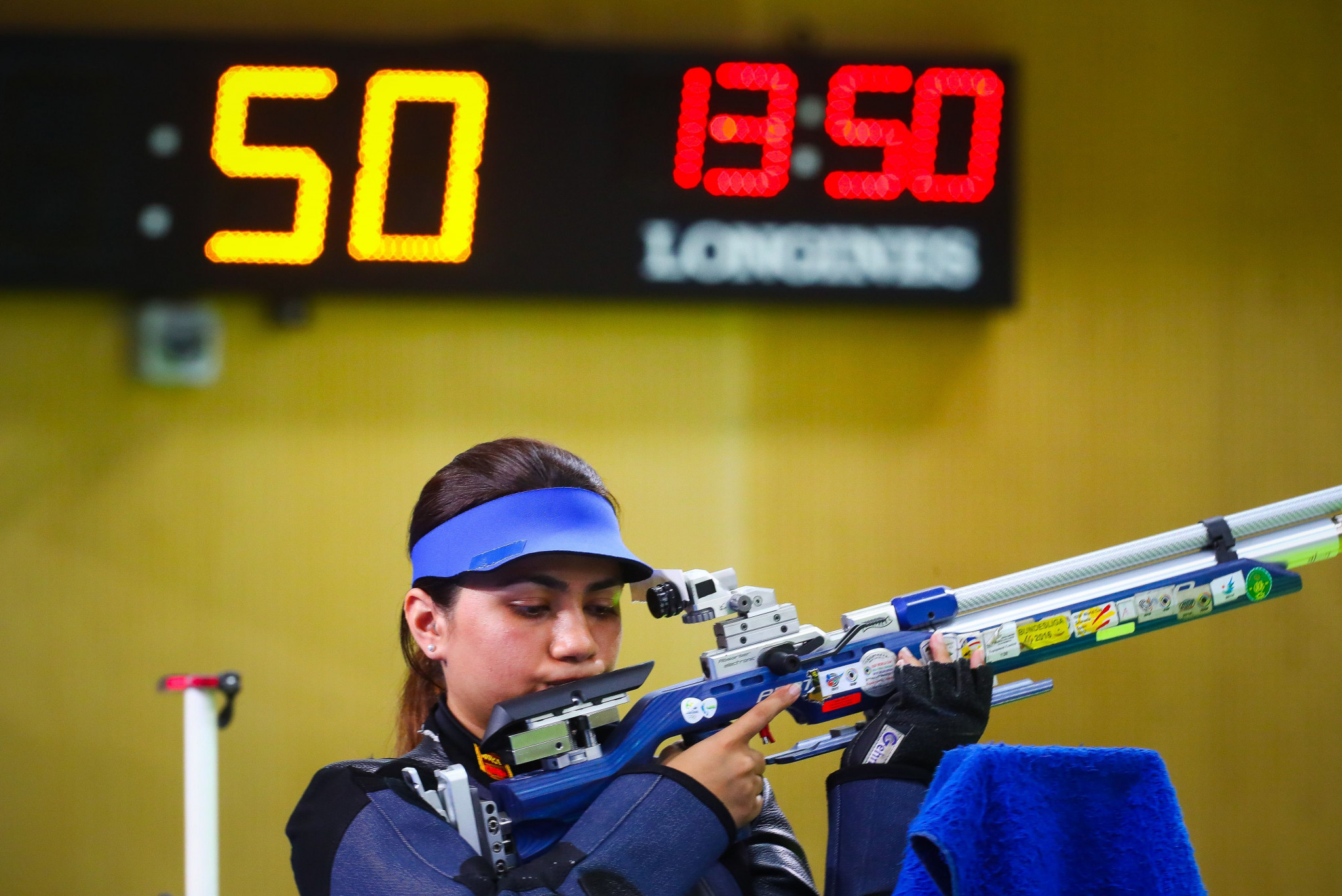 Chandela wins 10m air rifle at ISSF Rifle and Pistol World Cup in Munich