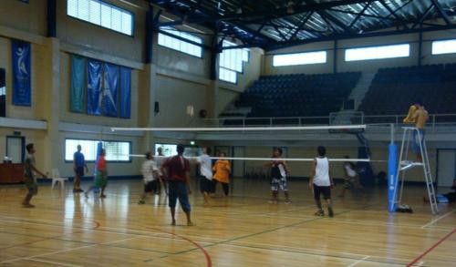 A volleyball test event for this year's Pacific Games in Samoa has begun ©Samoa 2019