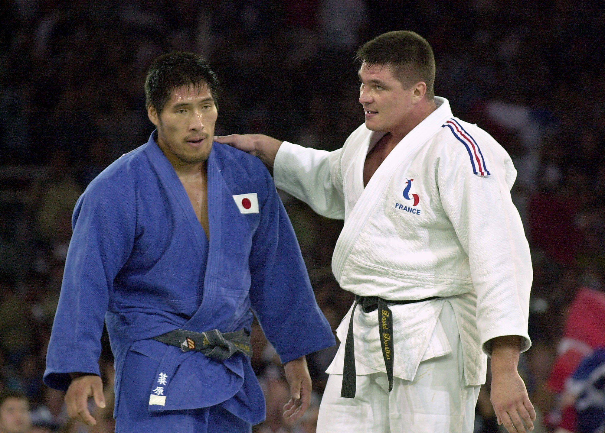 Shinichi Shinohara, left, was another Japanese star to get involved ©Getty Images