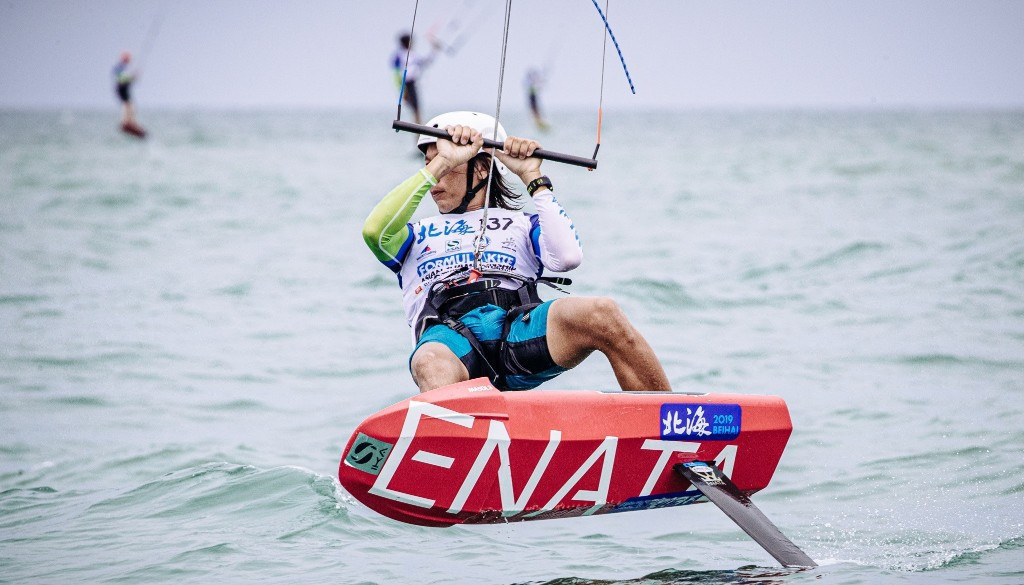 The course has proved challenging with several racers recording failures to finish ©Formula Kite