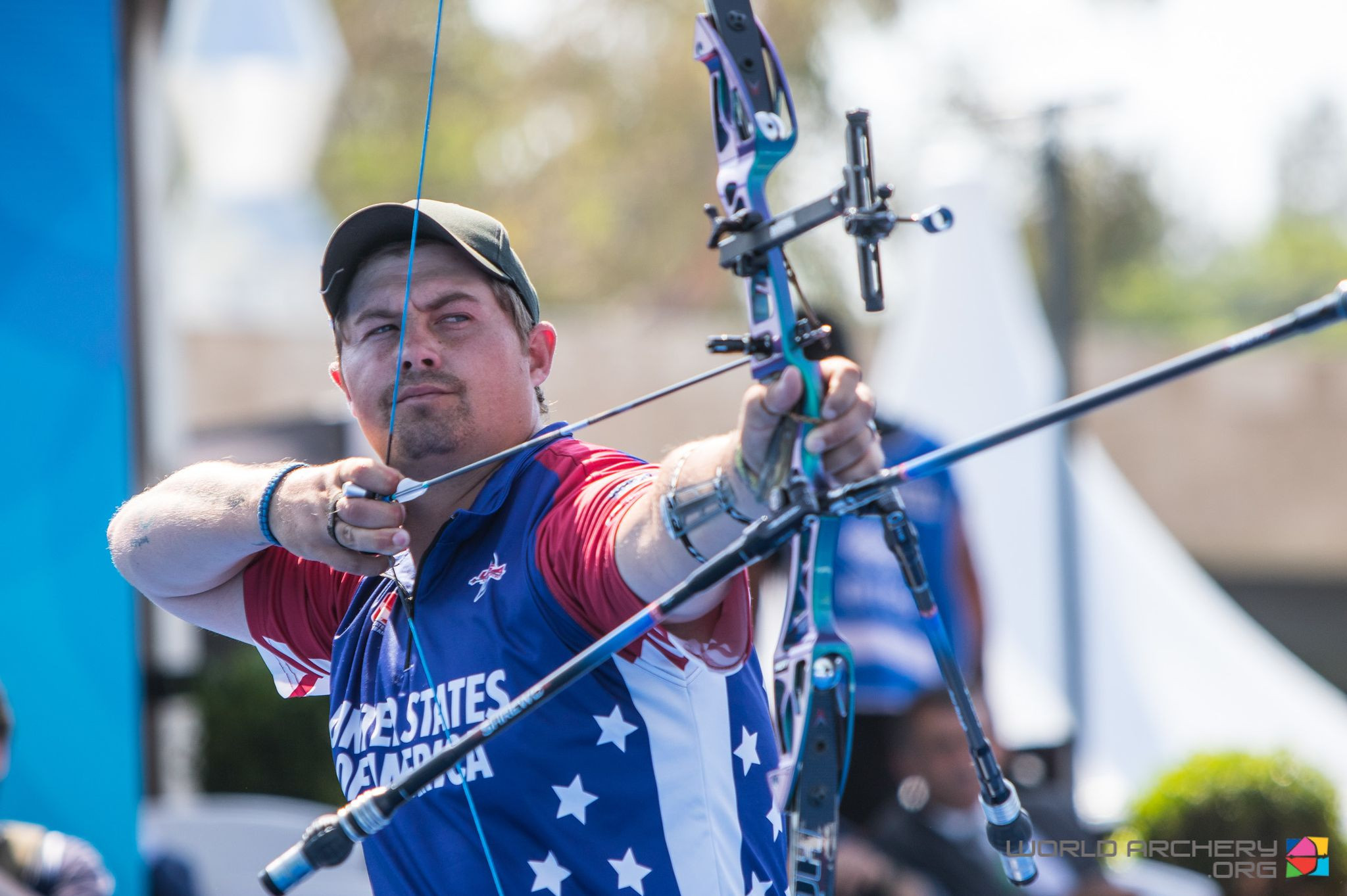 Brady Ellison came out on top in the men's recurve standings ©Getty Images