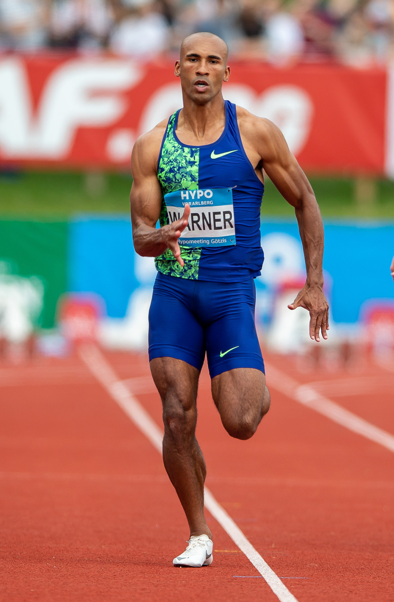 Damian Warner converted his overnight lead into victory in the decathlon ©Getty Images