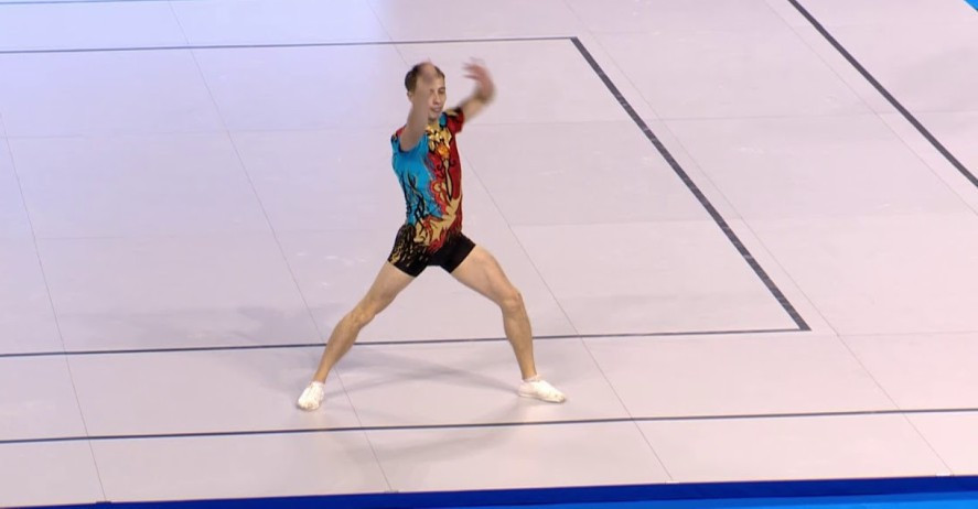 Russia claim gold and silver in individual events at Aerobic Gymnastics European Championships