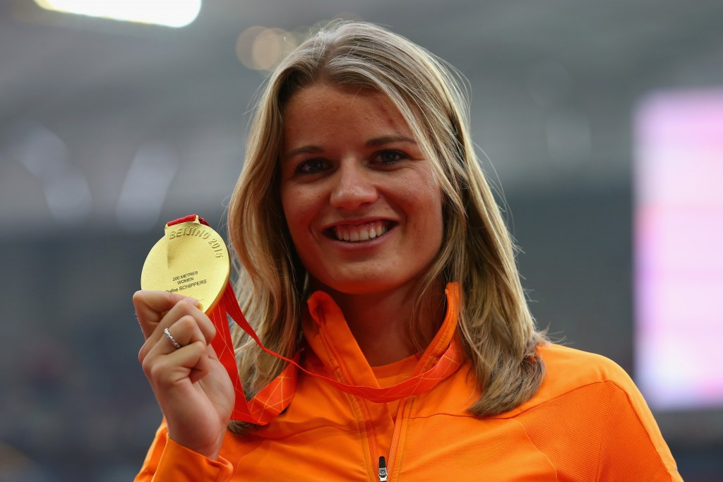 Dafne Schippers of The Netherlands is the first athlete to make the longlist for the women's Athlete of the Year award