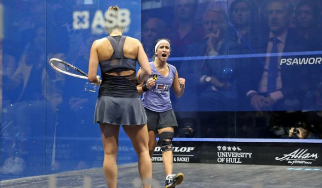 Gohar and Elshorbagy secure Egyptian double in PSA British Open at Hull