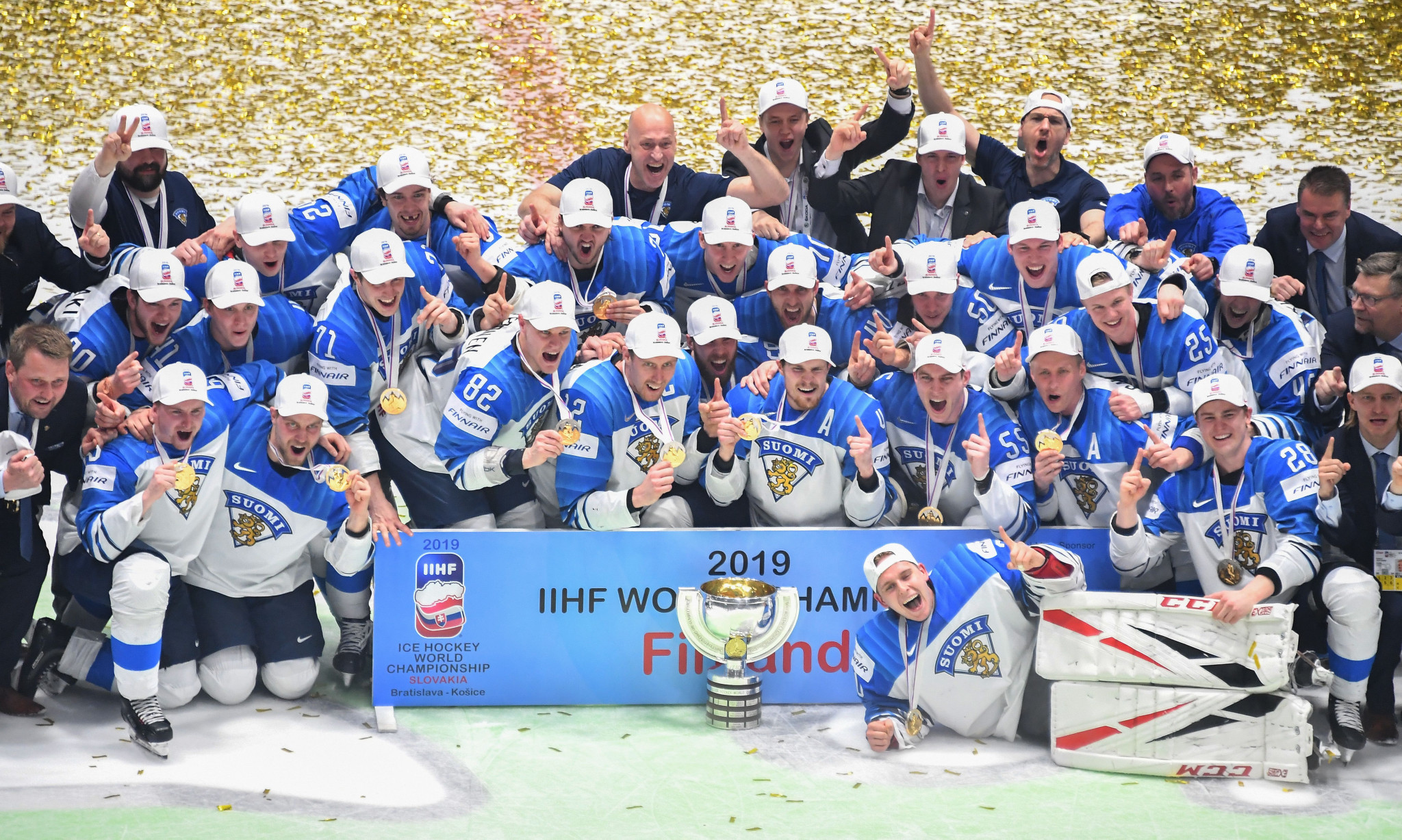 Finland triumphed in the final of the IIHF World Championship ©Getty Images