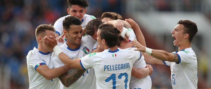 Italy book place in last 16 at FIFA Under-20 World Cup