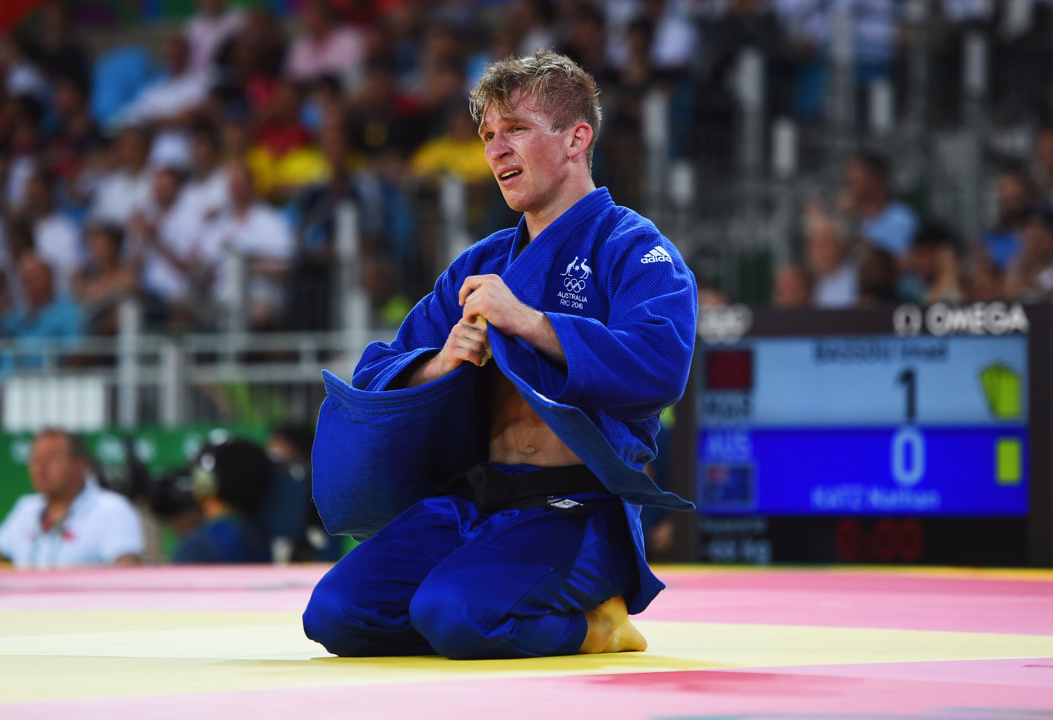 Nathan Katz represented Australia in judo at Rio 2016 ©Getty Images