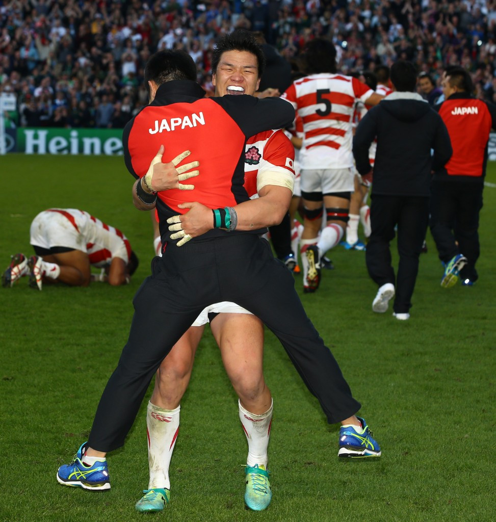 Japan and Argentina the big climbers in new World Rugby rankings