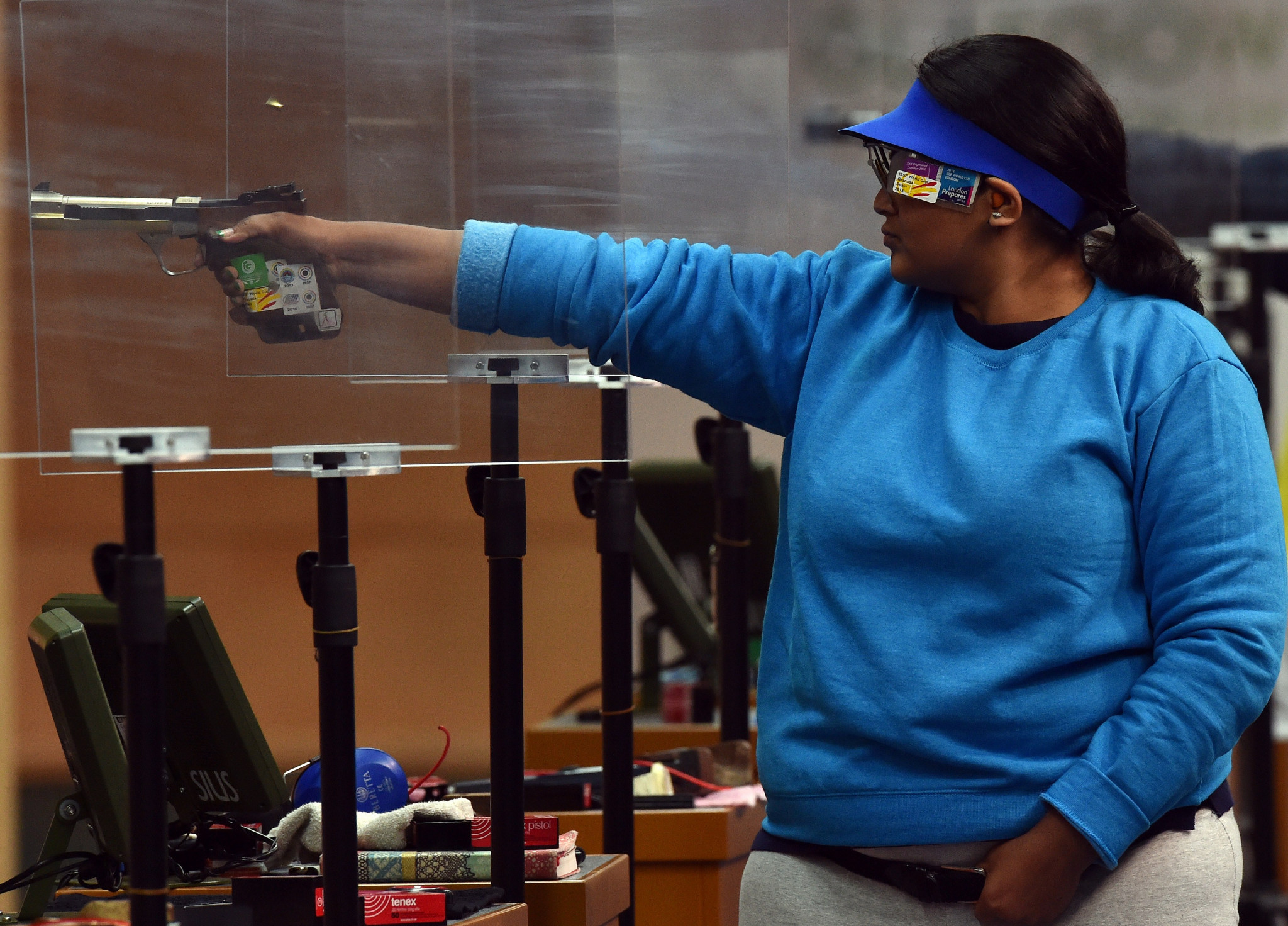 Rahi Sarnobat added to the Indian gold medal haul with victory in the women's 25m pistol competition ©Getty Images