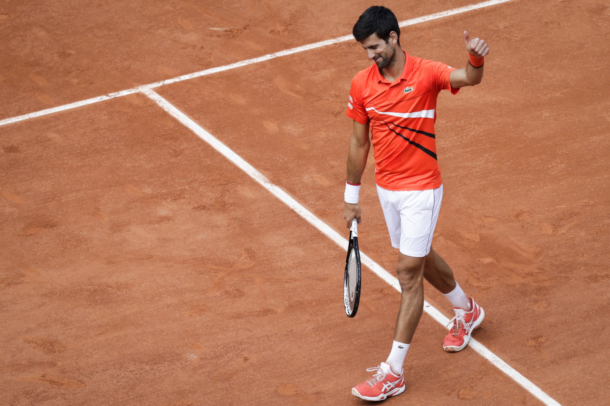 Djokovic and Nadal through to second round of French Open