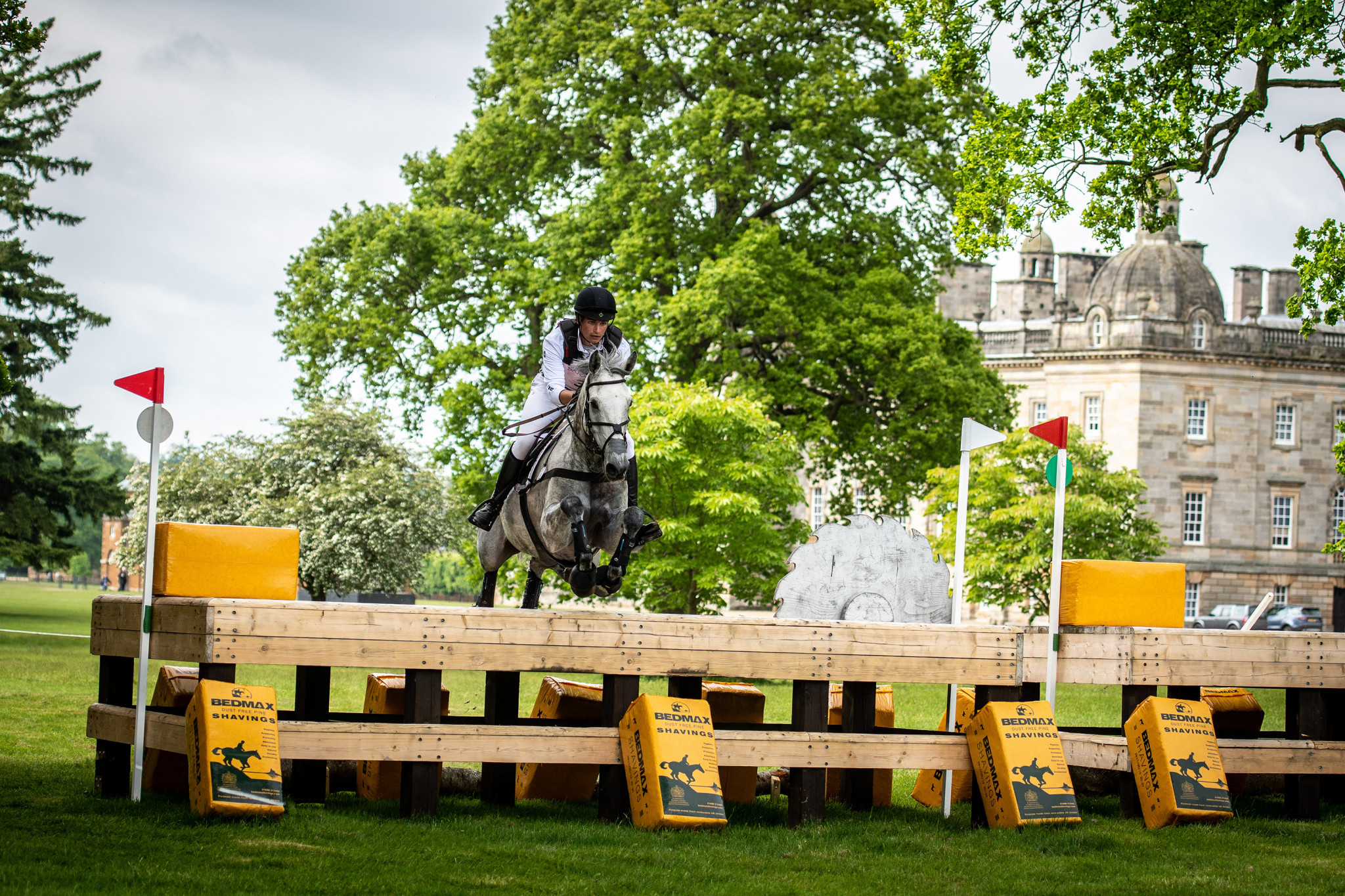 Christophe Wahler won the individual title as Germany won a fifth FEI Nations Cup Eventing title at Houghton Hall ©SEH Photography