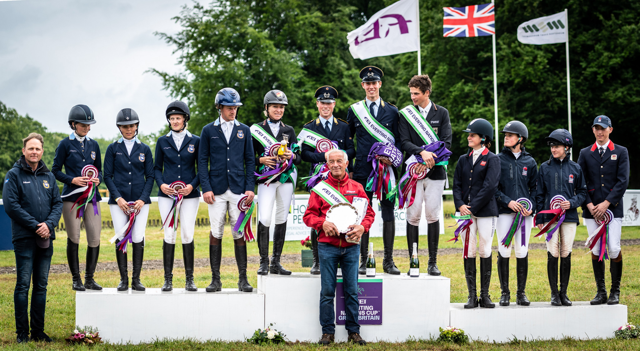 Germany won a fifth consecutive FEI Nations Cup opening leg at Houghton Hall in Norfolk, ahead of Sweden and Britain ©SEH Photography