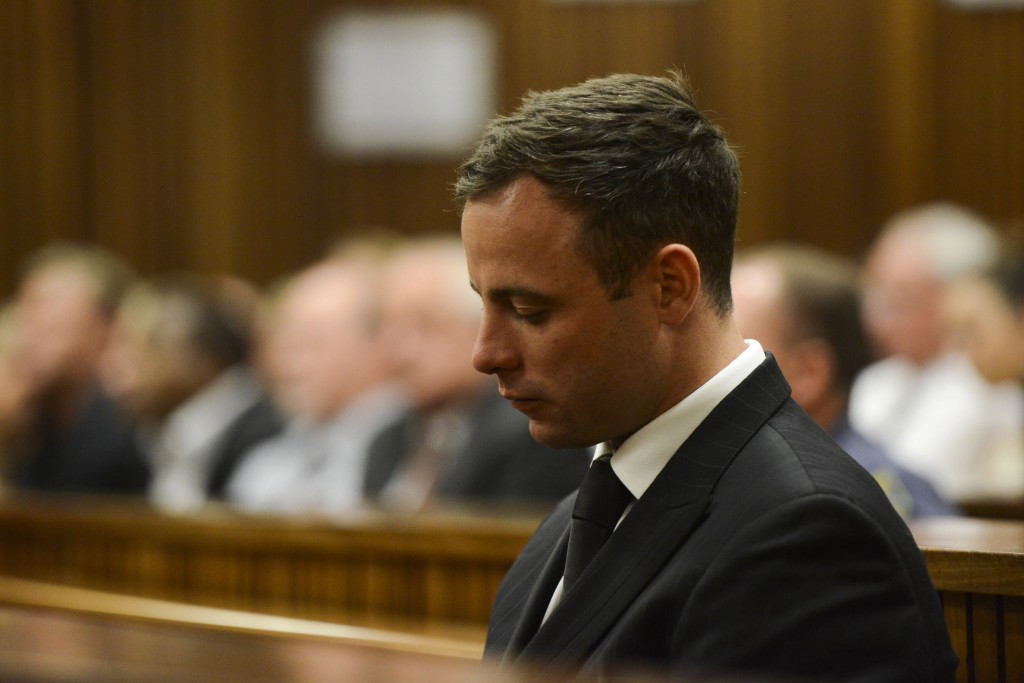 Oscar Pistorius was not in court today but faces being returned to jail