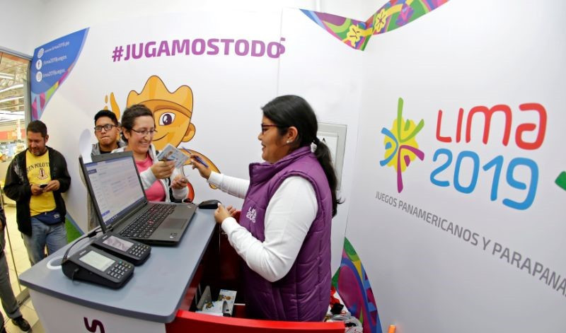 Tickets for the Pan American Games in Lima went on sale to the general public © Lima 2019