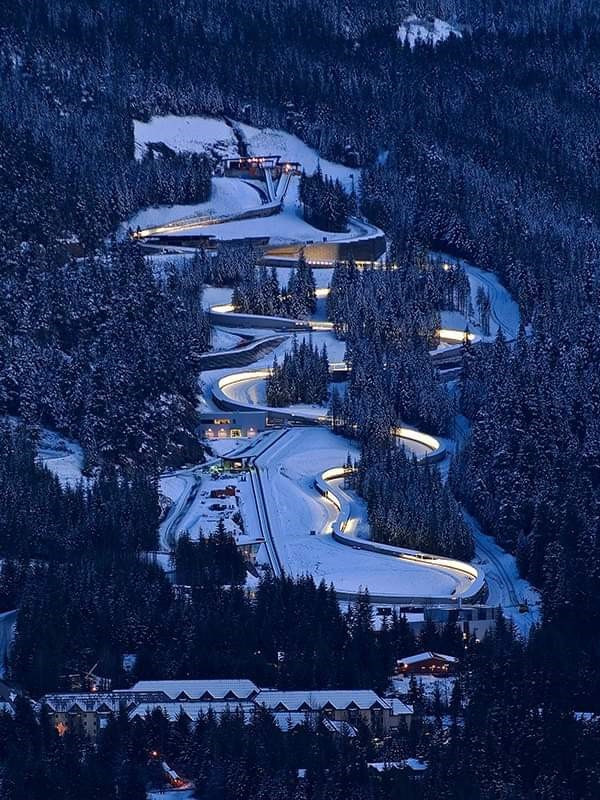 Whistler has hosted the FIL World Championships once before, in 2013 ©FIL