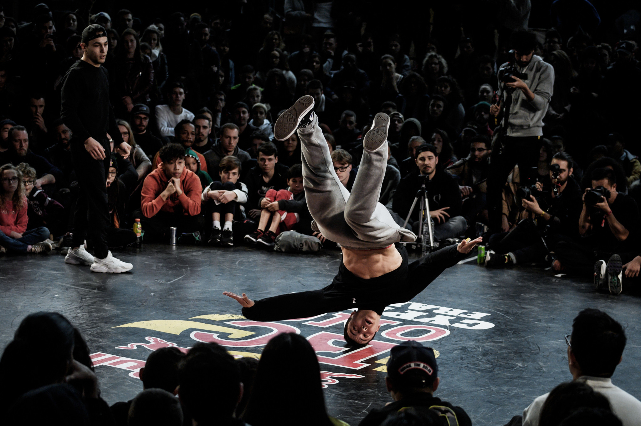 Breakdancing under the spotlight as crowds gather for FISE Montpellier