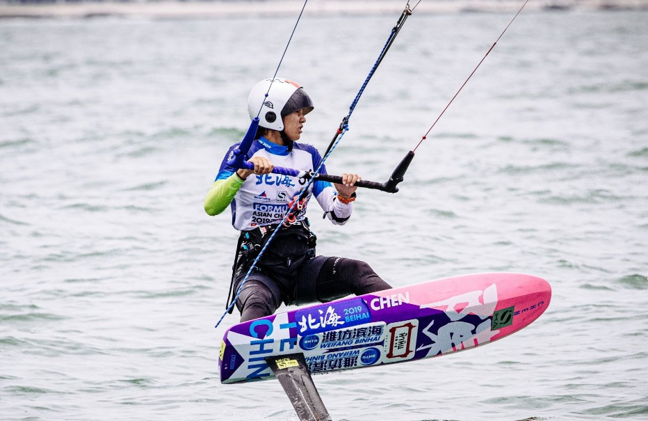 Mixed team racing cancelled at Formula Kite Asian Championships